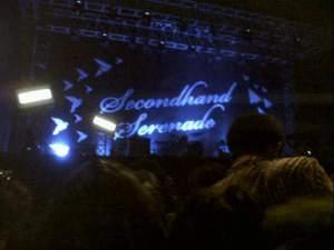stage Secondhand Serenade