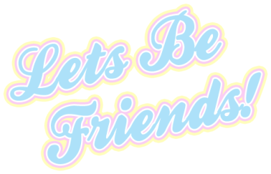 let's be a friends